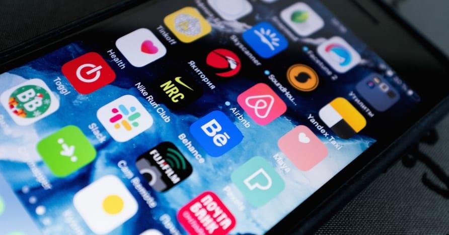 اختيار تطبيق المقامرة على الهاتف المحمول